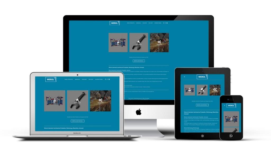 responsiv layout werol gmbh