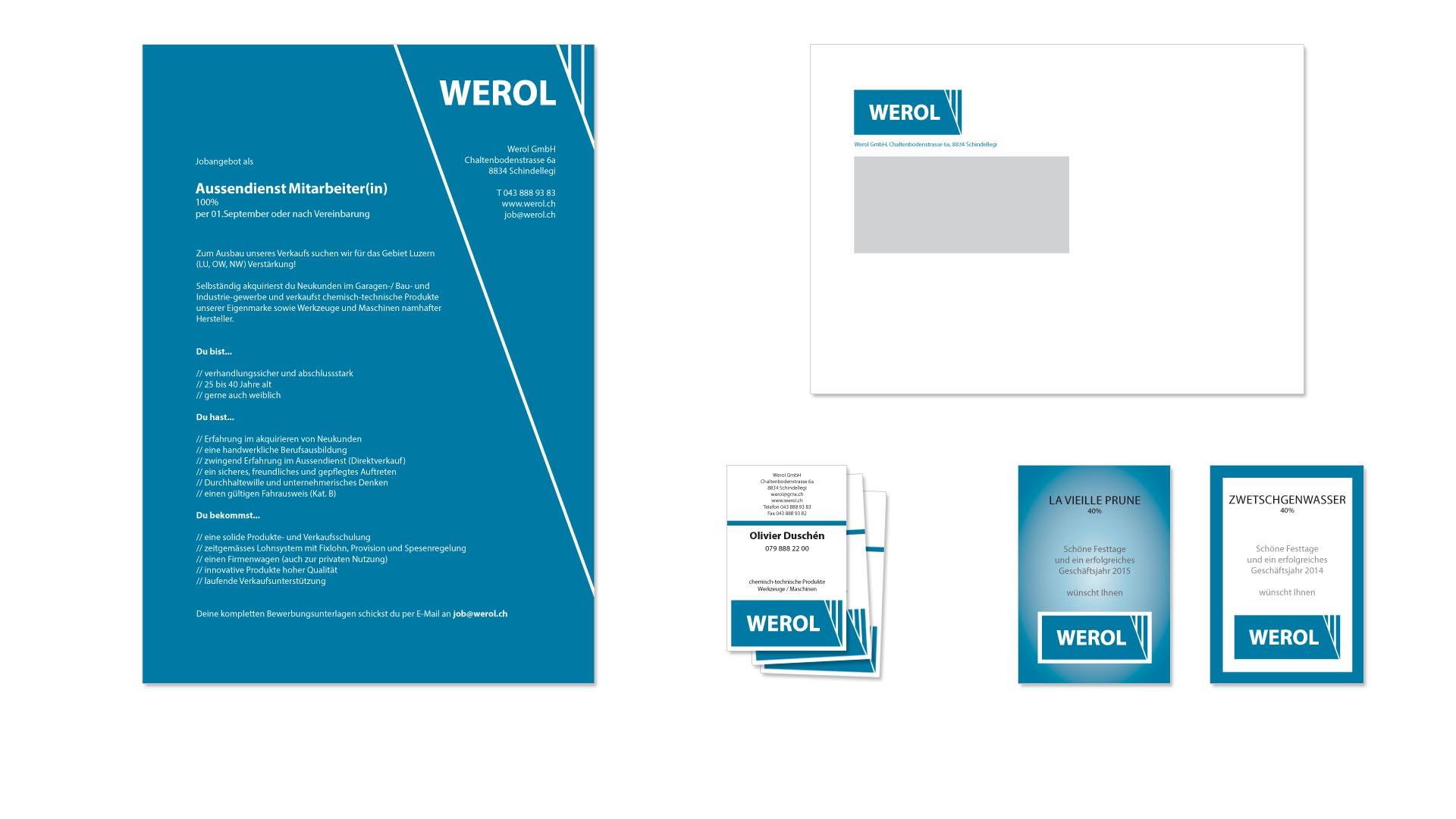 Werol GmbH – Printmedien