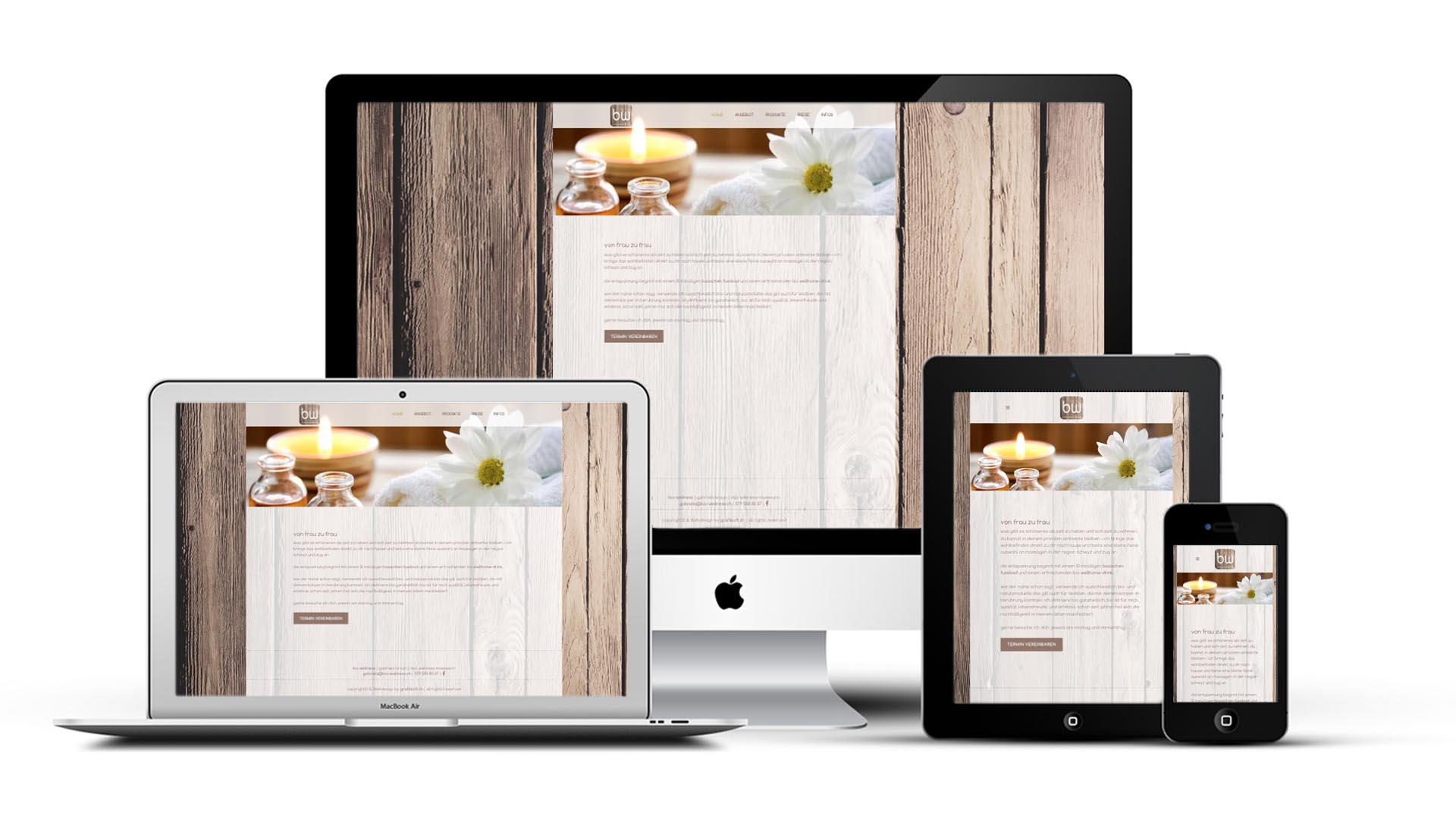 responsiv layout bio wellness