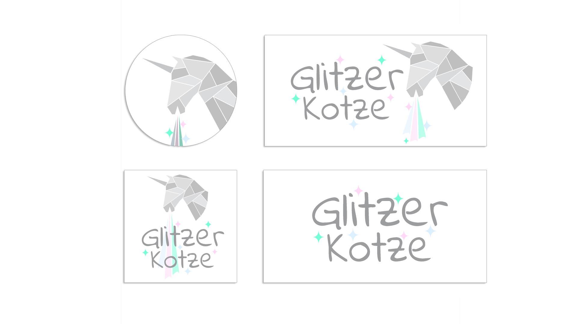 GlitzerKotze – Logo