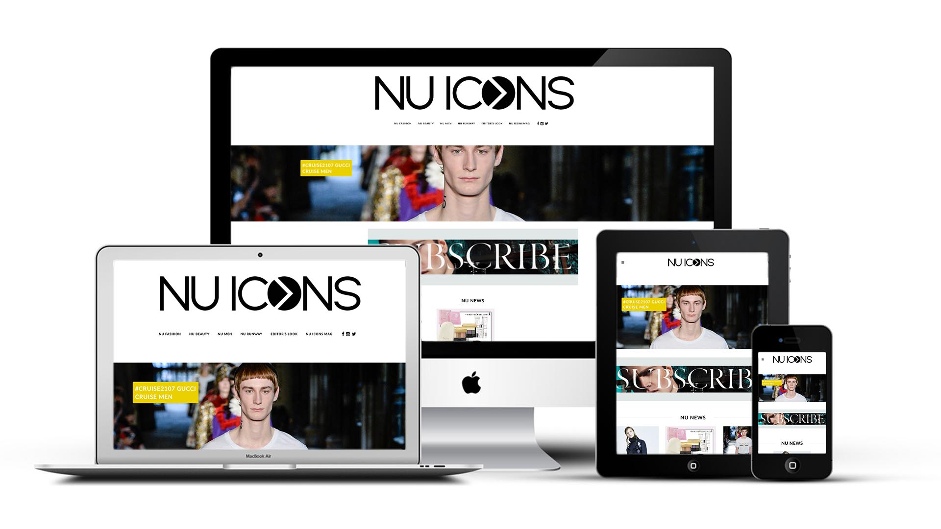 NU ICONS Website