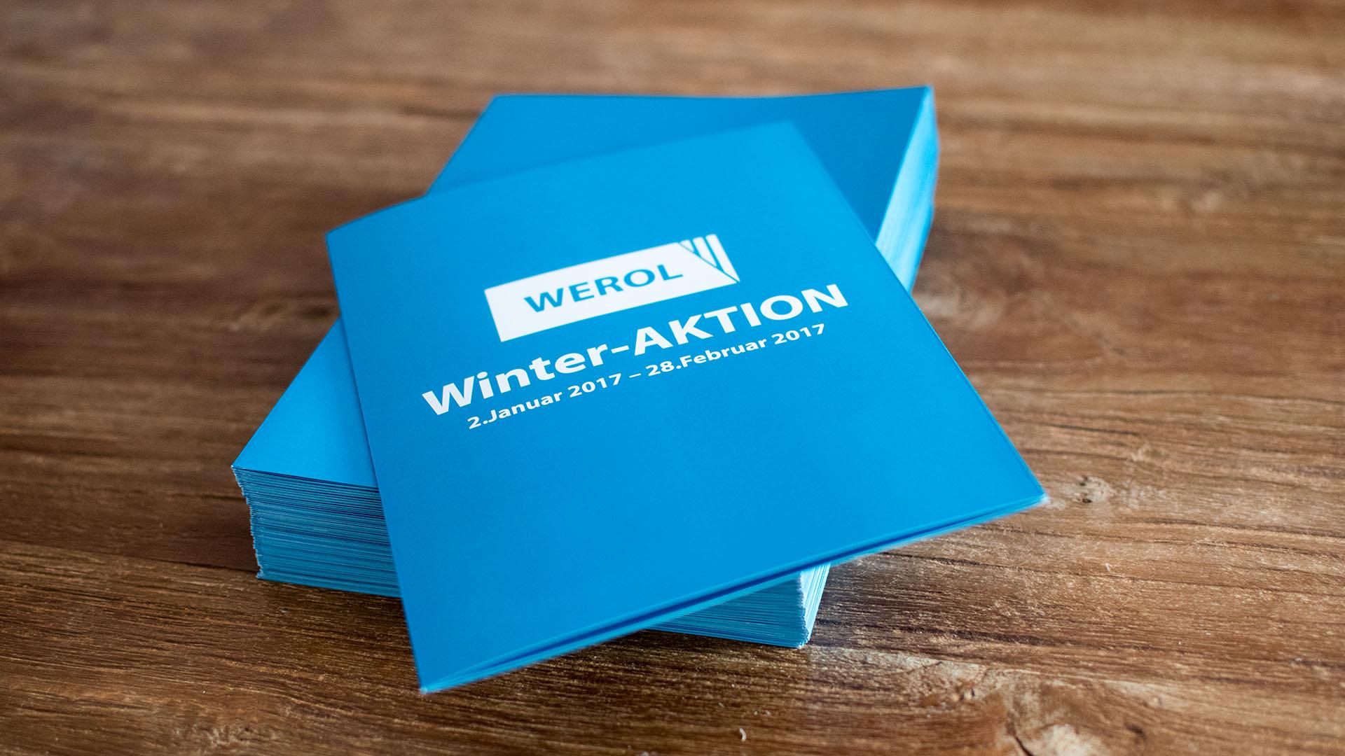 Werol GmbH – Aktionsfolder
