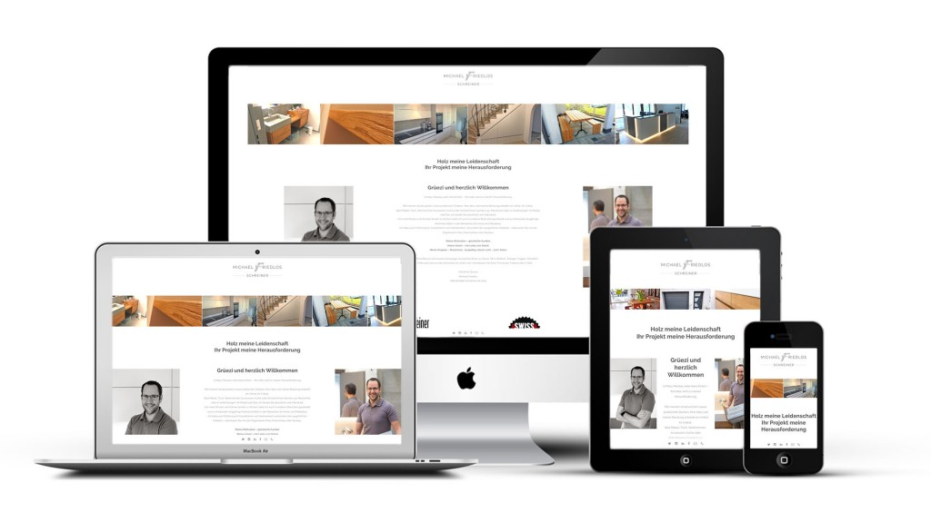 Responsive Website Michael Friedlos Schreiner